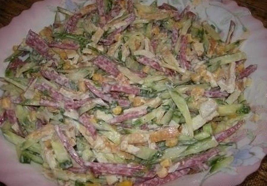 Салаты рецепты с простые и вкусные для детей