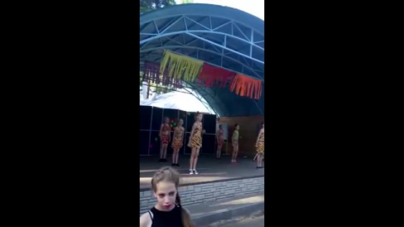 ДОЛ Смена 2 смена 2017 Танец Амазонки