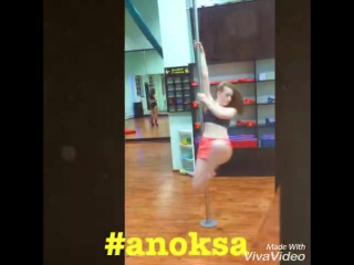 Pole dance Студия танца и фитнеса AnOKsA #полденс#анокса#пилоны#трюк#poledance#sport#polesport#poletriks#vitebsk#anoksa