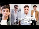My Style Diary  London Fashion Week Men's 2017 I Tom Daley