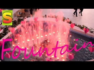 ВЛОГ Vlog Фонтан у ТРЦ Victoria Gardens Катання на кониках Fountain Shopping center riding horses