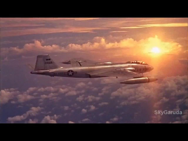 B-57 flyby nuclear explosion