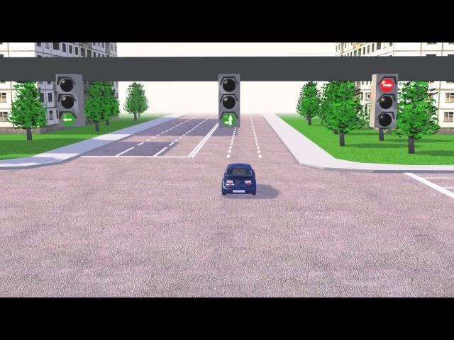 Урок 6.2 Сигналы светофоров. Как читать сигналы светофоров