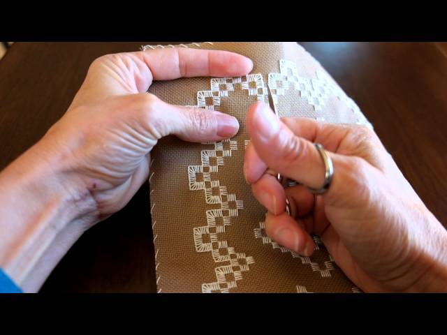 Hardanger Tutorial- Cutting and Pulling Out Threads