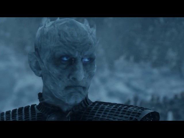 Король Ночи убивает дракона Дейнерис Визериса | Игра престолов 7 сезон 6 серия