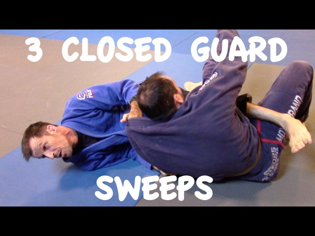 Closed Guard Sweeps Scissor Xande and Flower Sweep with Professor Matthias Meister