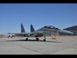 Су-30 бреющий полет над взлетной полосой и вертикальный взлет