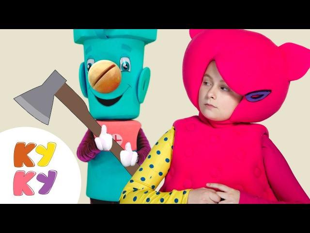 ТУК ТУК Инструменты КУКУТИКИ и САМОДЕЛКИН Развивающая песенка мультик для детей малышей
