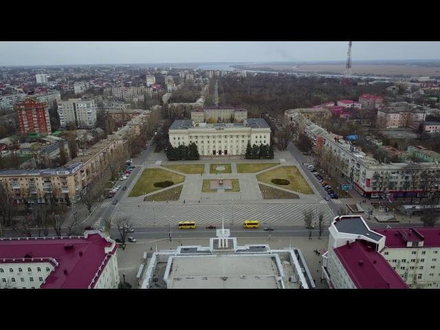 Херсон с высоты. Kherson from above. 4K