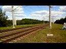 Дизель-поезда ДР1б-507508 едут на Осиповичи