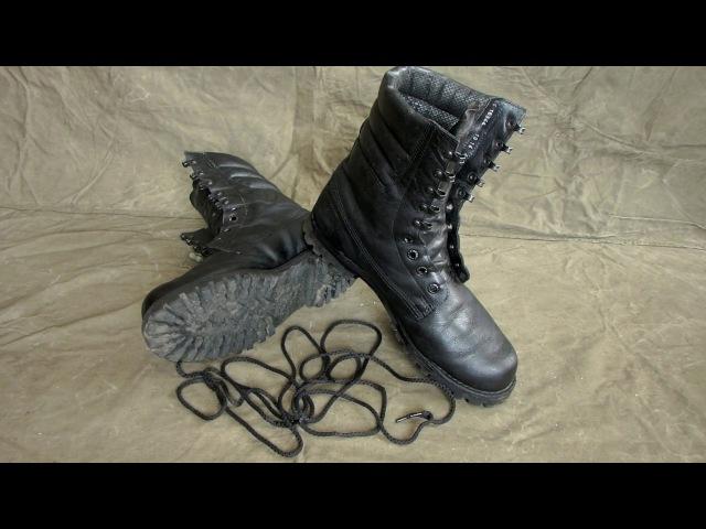 Подготовка обуви к походу