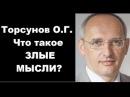 Торсунов О.Г. Что такое ЗЛЫЕ МЫСЛИ? Ростов-на-Дону