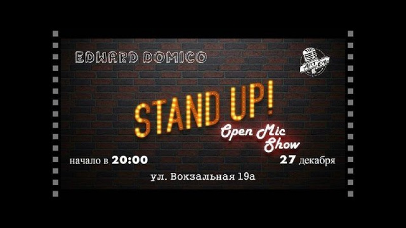 Edward Domico-StandUp2
