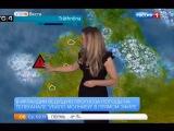 Юмор: Убила молнией ведущую прогноза погоды в прямом эфире