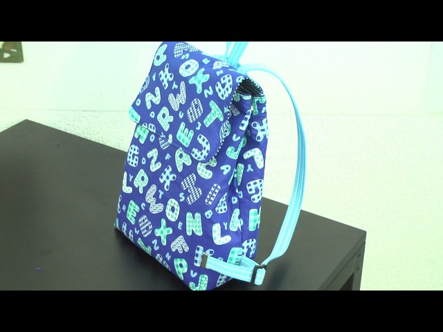 Gislaine Pirani ensina a fazer uma bolsa mochila - Passo a passo