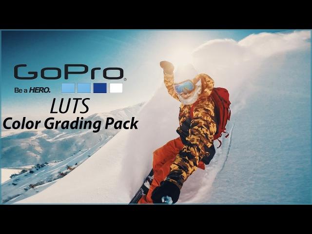 GoPro LUTs Color Grading Pack