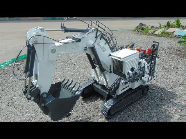 Как сделать гидравлику на RC модель RC экскаватор LIEBHERR R 9400 Litronic
