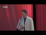Известный российский актер Сергей Маховиков поздравил горловчан с днем города