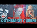 Gotham City Sirens Milk and Cookies