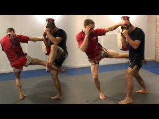 3 Muay Thai Rear Leg Kick Setups