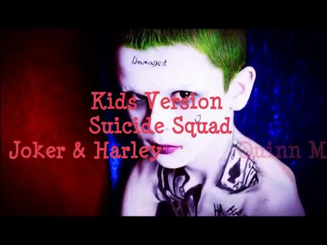 Джокер Харли Квинн в детстве