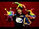 Deluxe Rainbow Balloon Jester Hats