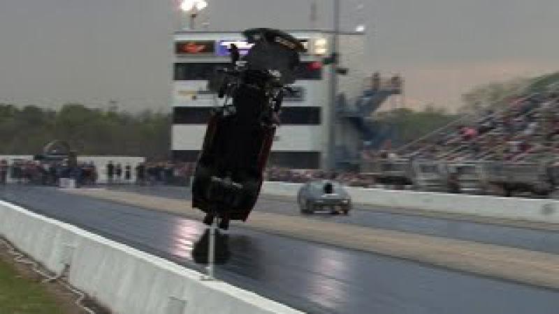 4000hp CORVETTE TAKES FLIGHT Tulsa Raceway Park