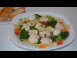 Диетический суп с фрикадельками / Dietary soup - Помощь на Кухне