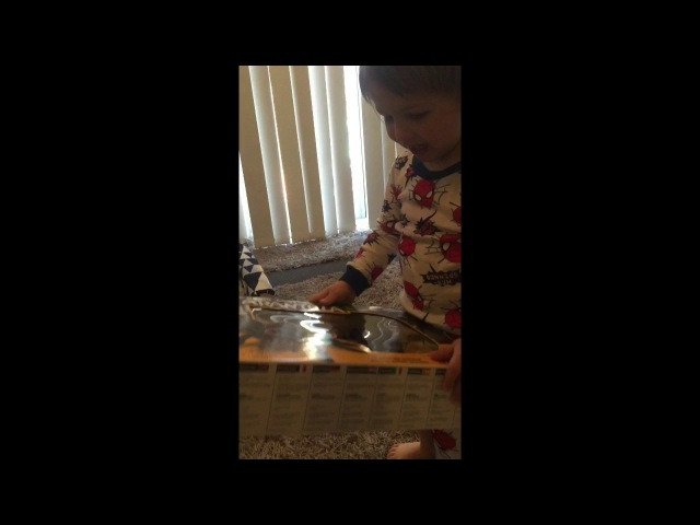 Christmas Present Fail | Toddler Appreciates Gift.