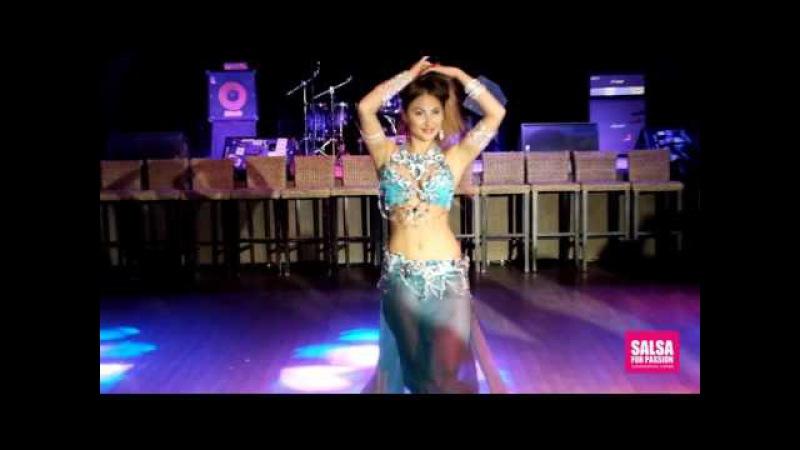 Alla Vatc salsa passion performance tabla [vk.com/bellydancetv_tanec_jivota]