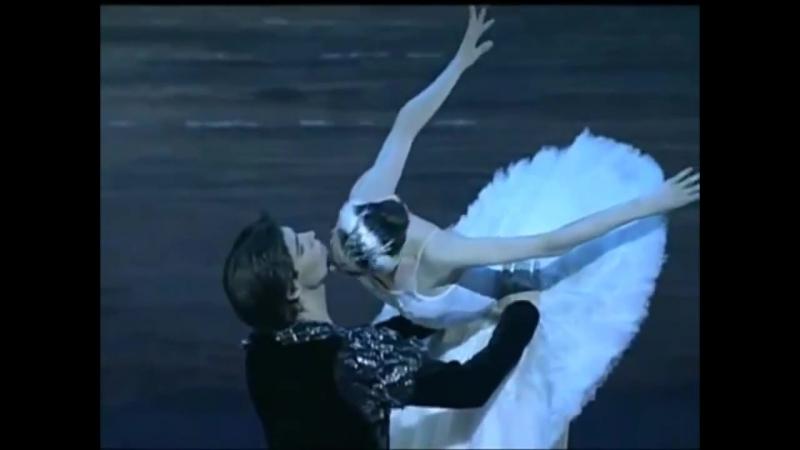 Roberto Bolle and Svetlana Zakharova - Swan Lake Rehearsal