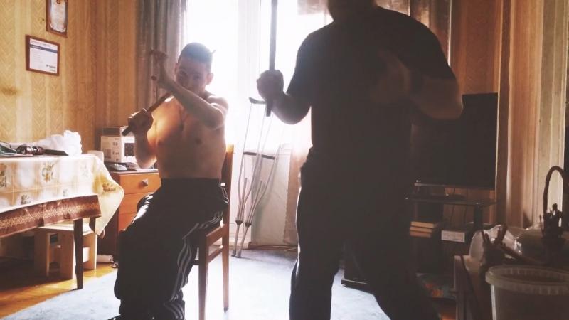 Тренировка по Балинтавак Арнис Куентада