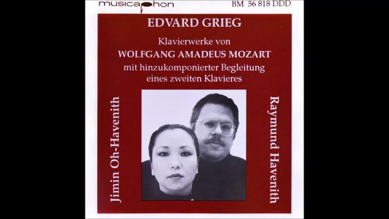 Mozart _ Grieg - Fantasy in C minor, K. 475