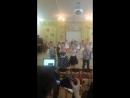 танец в детском саду на  8 Марта!