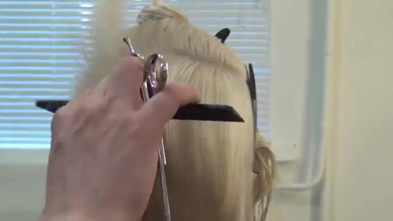 Урок для парикмахеров. Мастер-класс по стрижке боб каре. Артем Любимов. Прическа