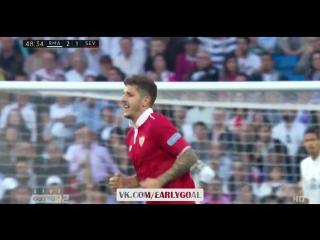 Реал Мадрид - Севилья 2:1 Йоветич 49' Эффектный удар!