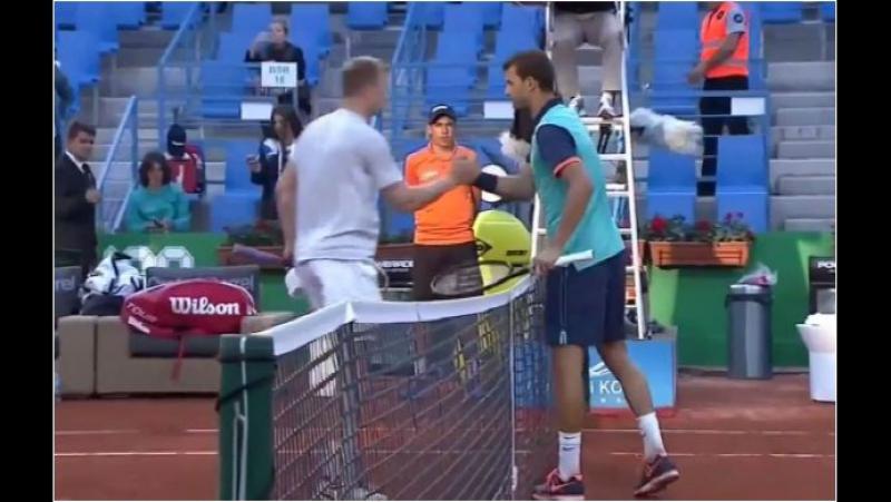 Grigor Dimitrov vs. Andrey Golubev 6-3, 6-2 TEB BNP Paribas Istanbul Open (R16) 29.04.2015. (After the 4th Game)