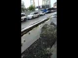 В городе прошёл небольшой дождь 23.8.2017 Ростов-на-Дону Главный