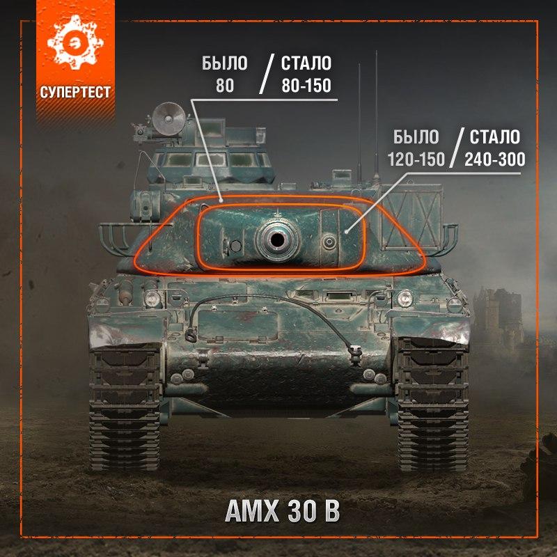 Ап брони и не только AMX 30 1er prototype и AMX 30 B