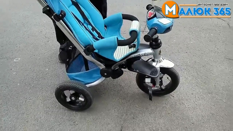 Демонстрация трехколесного велосипеда Best Trike 698
