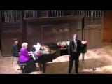 Н. Метнер - Романсы, исп. Владимир Байков (бас-баритон) Партия фортепиано  Елена Савельева