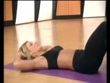 Упражнения для похудения живота.