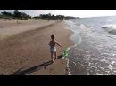 Ребенок, колесо и море. 3 Колесо в отрыв :)