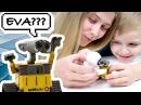 Видео обзор и распаковка игрушек, роботов Валл-И и Ева из Китая | Wall-E and Eva (Wall-E Toy)
