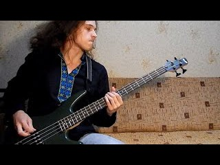 Slayer 'Raining Blood' bass cover | Andriy Vasylenko