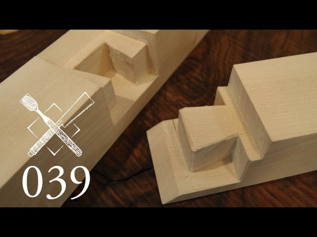 Joint Venture Ep 39 Blind housed and mitred dovetail Hashi dome arigaki shikuchi Japanese Joinery
