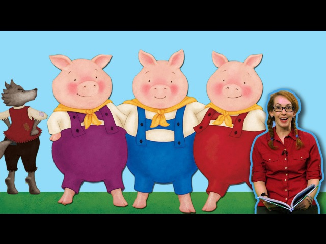 The Three Little Pigs   Fairy Tale for Children read by Jen Howze   Story Time