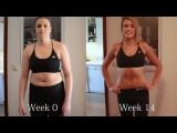 Seana Forbes 15 Weeks Transformation with Freeletics