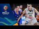 Lithuania v Italy - Condensed Game - Quarter-Final - FIBA U19 Basketball World Cup 2017