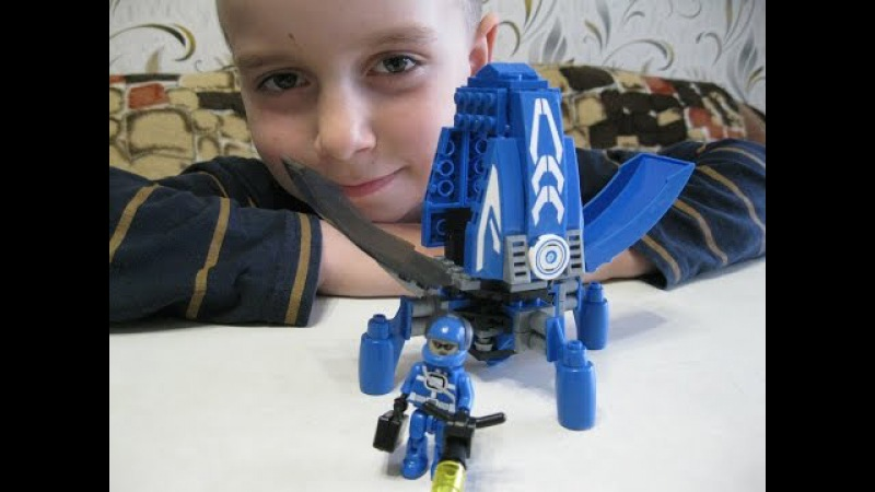 Lego совметимый Ausini Капитан Лего Собираем Луноход 25371 124 детали Обзор